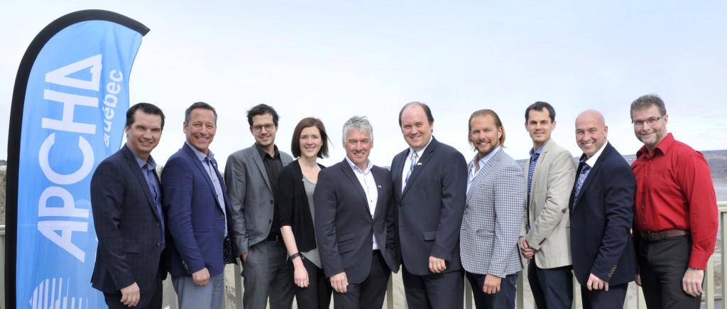 Nouvellement membre du conseil d'administration de l'APCHQ – région de Québec