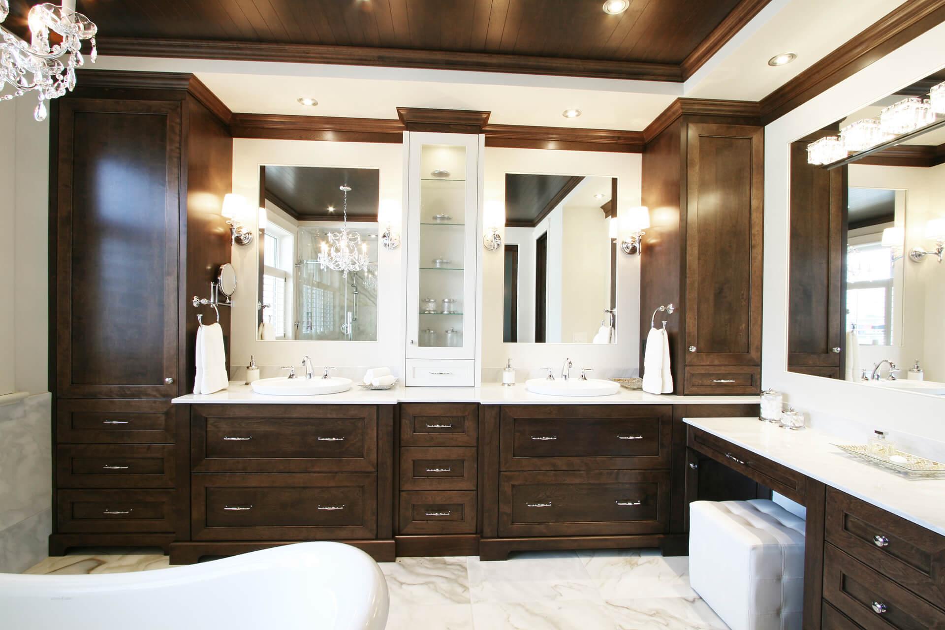 Salle de bain classique - Christian Marcoux