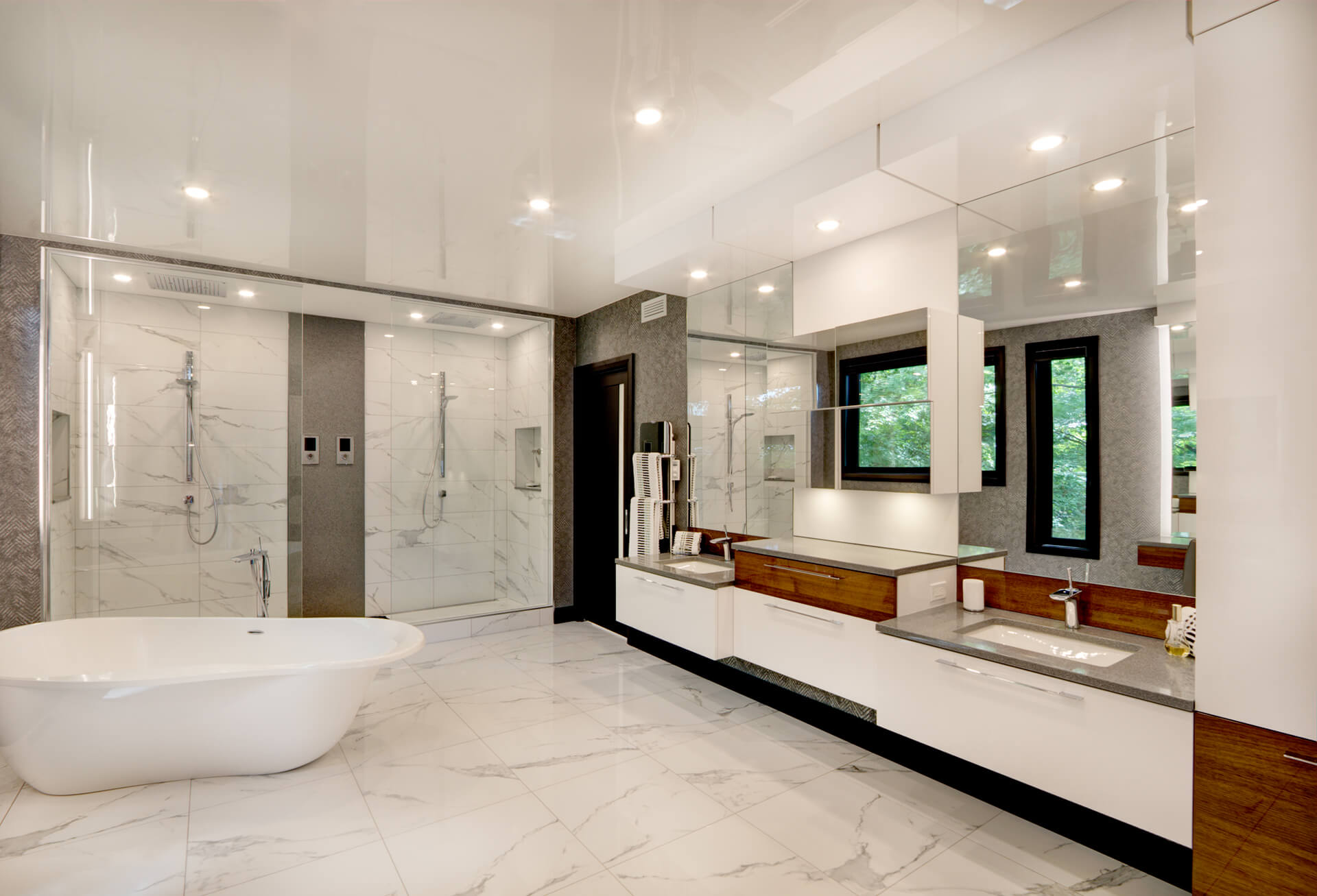 Salle de bain moderne - Christian Marcoux