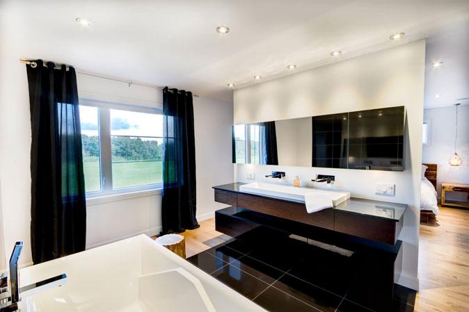 Salle de bain moderne | Christian Marcoux